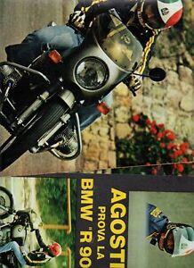 SP72 Clipping-Ritaglio del 1974 Agostini Prova la Bmw R90S