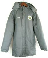 Under Armour Cold Gear Mens Long Hooded Coat Nashville Soccer Club Large Jacket