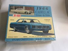 JO-HAN 1966 Cadillac Coupe De Vile  #C-1366:149 1/25 Scale Model Kit -XLNT!!!