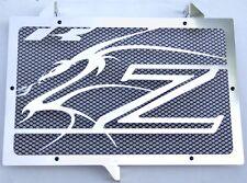 "cache / Grille de radiateur Kawasaki Z750et Z1000 07>12 ""Dragon"" + grill. noir"
