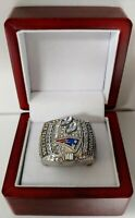 Tom Brady - 2003 New England Patriots Super Bowl Ring With Wooden Box