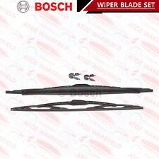 2X Pare-brise Balais d'essuie-Glace (Paire) 3397001802 BOSCH Set 801 s qualité de remplacement