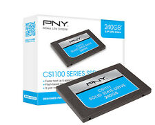 "PNY CS1111 Interner Flash-Speicher SSD 2,5 "" 240GB SATA III"