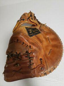 "Vintage Wilsons Professional Model Catchers Mitt Gil Hodges A2820 Rare 12"" RHT"