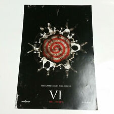Saw VI The Game Comes Full Circle Movie Poster