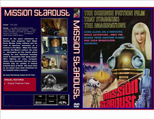 Mission Stardust (1968) Dvd-R Classic Sci-Fi Fantasy Plus Case & Artwork
