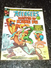 THE AVENGERS Staring SHANG-CHI Master of KUNG FU - No 34 - Date 11/05/1974