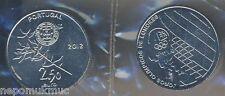 2,5 € Gedenkmünze 2012 Portugal Olympische Spiele