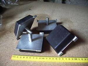 To Fit Iveco 12-18 ton Iveco 120E 150E 180E spring pad rubber buffer x4