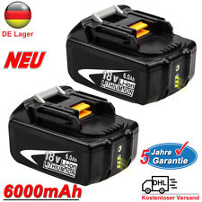 2X Für Makita Akku BL1850 B 18V 6,0 AH Li-Ion 197280-8 BL1860 BL1830 LXT LED NEU