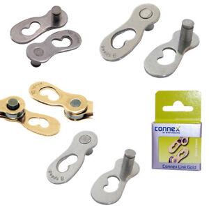Connex 100 Chain 1//2 x 1//8112 Links Bicycle Chain Chain Bike Grey