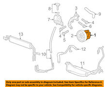 Cadillac GM OEM 08-14 CTS-Power Steering Pump 15224339
