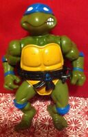 1989 Vintage Playmates TMNT Leonardo with Harness  Loose Action Figure