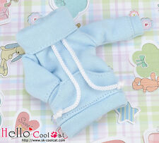 ☆╮Cool Cat╭☆ 310.【NH-A06】Blythe Pullip Thick Cloth Pocket Top # Sky Blue