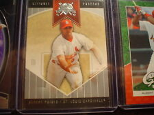 Albert Pujols Cardinals 2004 National Pastime Baseball Card#42
