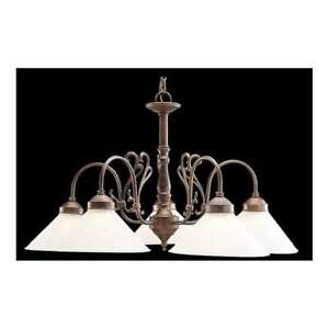 Classic Lighting Biltmore Traditional Chandelier, English Bronze - 3055EB