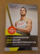 2018 Campeonato Mundial de atletismo Interior de Alemania guía de medios de equipo