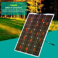 80W 12V Semi Flexible Shell Solar Panel Battery Charger For RV Boat Motorhome