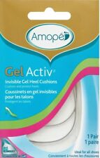 Amope GelActiv Invisible Gel Heel Cushions Insoles for Women,1 pair, Size 5-10