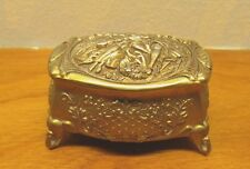 vintage trinket box metal made in Japan