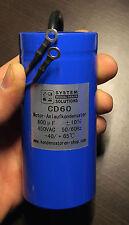 Motorkondensator/Anlaufkondensator/Startkondensator 50Hz 600uF/µF CD60 450 VAC