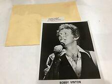 Bobby Vinton Autographed Signed 8x10 Photo 1981