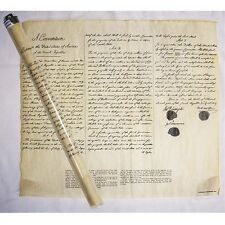 THE LOUISIANA PURCHASE POSTER PARCHMENT DOCUMENT REPRODUCTION IN TUBE NEW