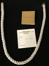 HEIDI DAUS Elegant Essentials WHITE Cord Necklace for Pins and Pendants NIB READ