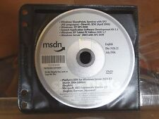 MSDN DISC 2426.22 JULY 2006 - ENGLISH