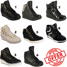 Unbranded Wedge Lace Up Synthetic Shoes for Women