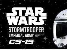 HJC CS-15 Star Wars #SOLO Imperial Storm Trooper moto Crash casque