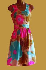 NEW DOROTHY PERKINS GREEN YELLOW SUMMER SUN BEACH TEA  DRESS  8  12 14 16 18