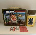 Gi Joe vintage lunchbox and thermos 1982 Hasbro Unused Beautiful
