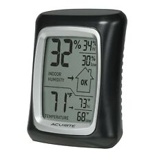 AcuRite 00325 Home Comfort Monitor Black Perfect For Weed Grow Tent Hydroponics
