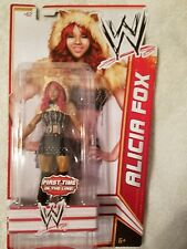 WWE ALICIA FOX Super Star #62 Action Figures☆First Time In The Line☆