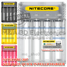 NITECORE New Q4 Universal Smart Vape Mods 18650 Battery Quick 2A Clear Charger