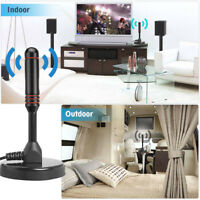 High Gain Freeview HD TV Aerial Indoor Digital TV Aerial Antenna Booster DTA240