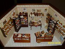 Puppenstube-Bäckerei/Konditorei-Miniatur 1:12--fantastisches Teil-Unikat
