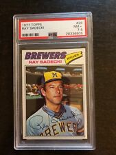 1977 TOPPS #26 RAY SADECKI *PSA GRADED NM+ 7.5 *SHARP* KGC-1360