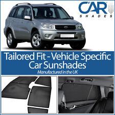 Toyota Rav4 5dr 2000-2006 UV CAR SHADES WINDOW SUN BLINDS PRIVACY GLASS TINT
