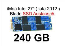 "240 GB SSD für iMac 27"" Intel- late 2012 / SSD AUSTAUSCH / Lesen: 501 MB/s"