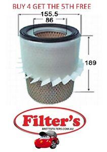 AIR FILTER FOR ISUZU ELF 150 NHR54 2.5L 4JA1 DIESEL 7/1984-7/1993