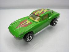 Diecast Hot Wheels Corvette Stingray 1979 Green Good Condition