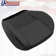 1999 2000 2001 2002 2003 2004 Ford Mustang GT V8 Driver Bottom Seat Cover Black