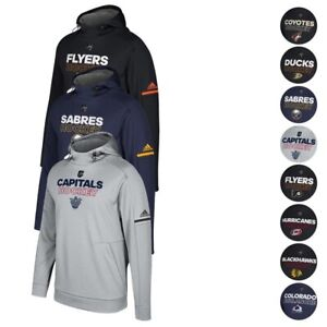 NHL Adidas Men's Authentic Climawarm Performance Pro Player Hoodie Collection