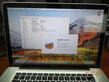 Apple MacBook Pro 15'' MD318LL/A 2011 Intel i7 2.0 GHz QUAD CORE 4GB 128GB SSD