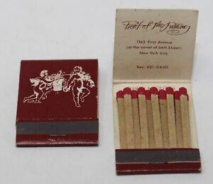 Vintage Lot of 2 Matchbooks Proof of the Pudding New York City Restaurant 1960s