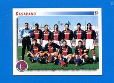 CALCIATORI PANINI 1997-98 Figurina-Sticker n. 634 - CASARANO SQUADRA -New