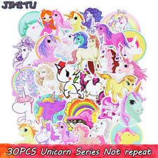 30pcs Licorne Cool Voiture Autocollant Graffiti Skateboard bagages Decal for Kids