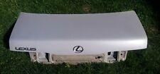 93-95 LEXUS GS300 REAR TRUNK DECK LID SHELL OEM OPAL WHITE PEARL
